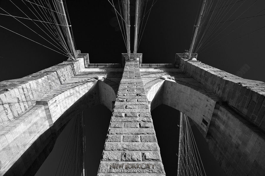 Arches of the Brooklyn Bridge