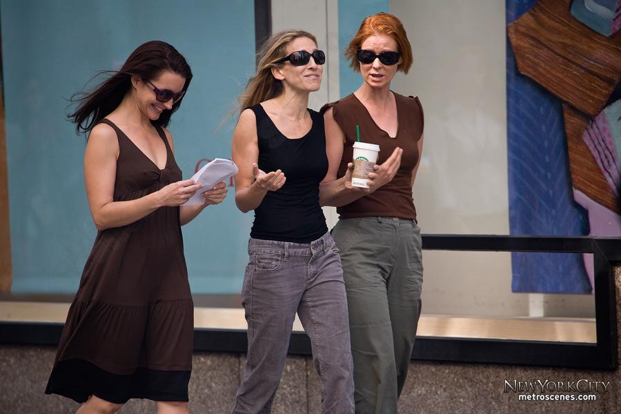 Kristin Davis, Sarah Jessica Parker, Cynthia Nixon