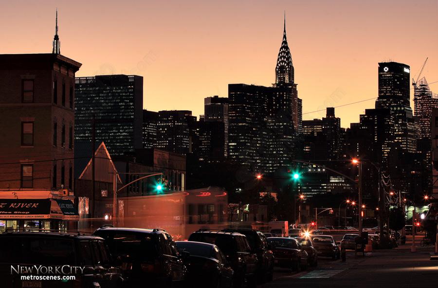 Midtown at dusk