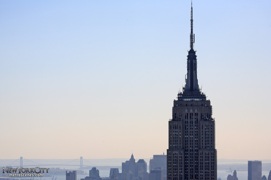 The mighty Empire State Building