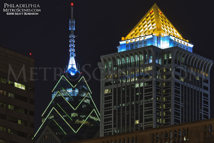 BNY Mellon Center and One Liberty Place
