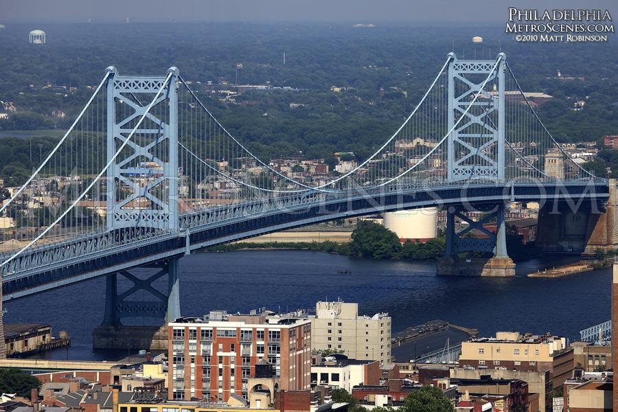 Ben Franklin Bridge - Philadelphia