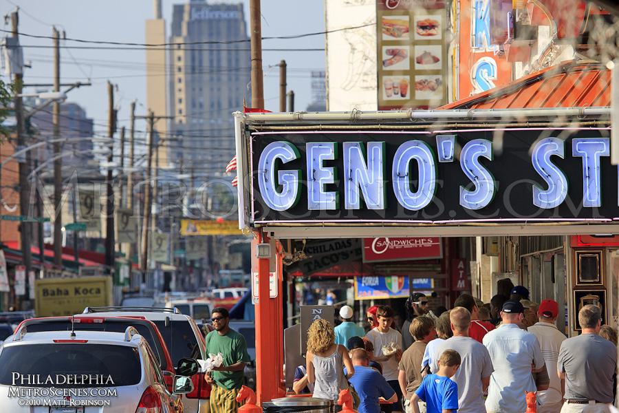 Geno's sign