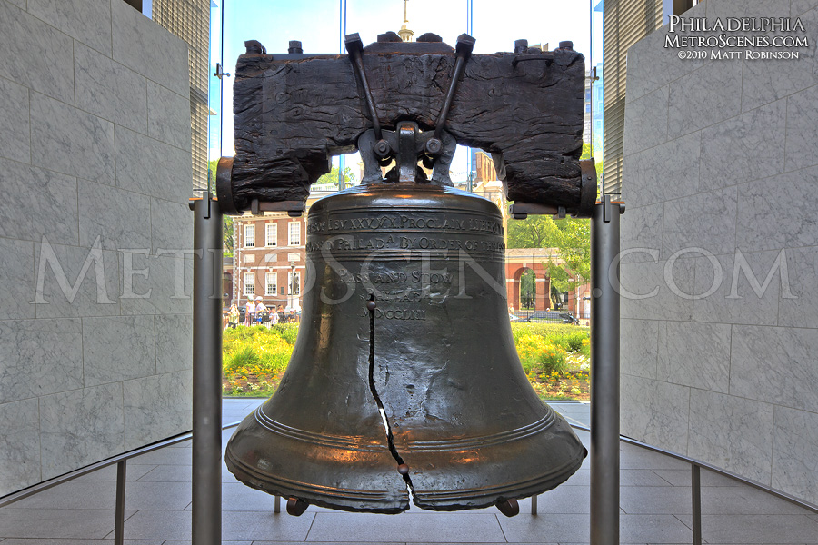 The Liberty Bell in Philadelphia