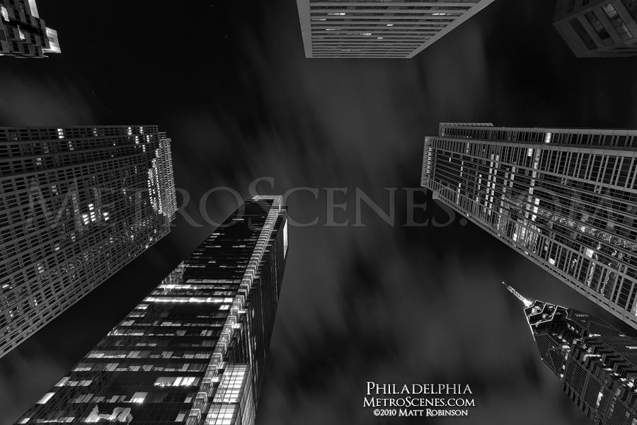 Black and White Philadelphia