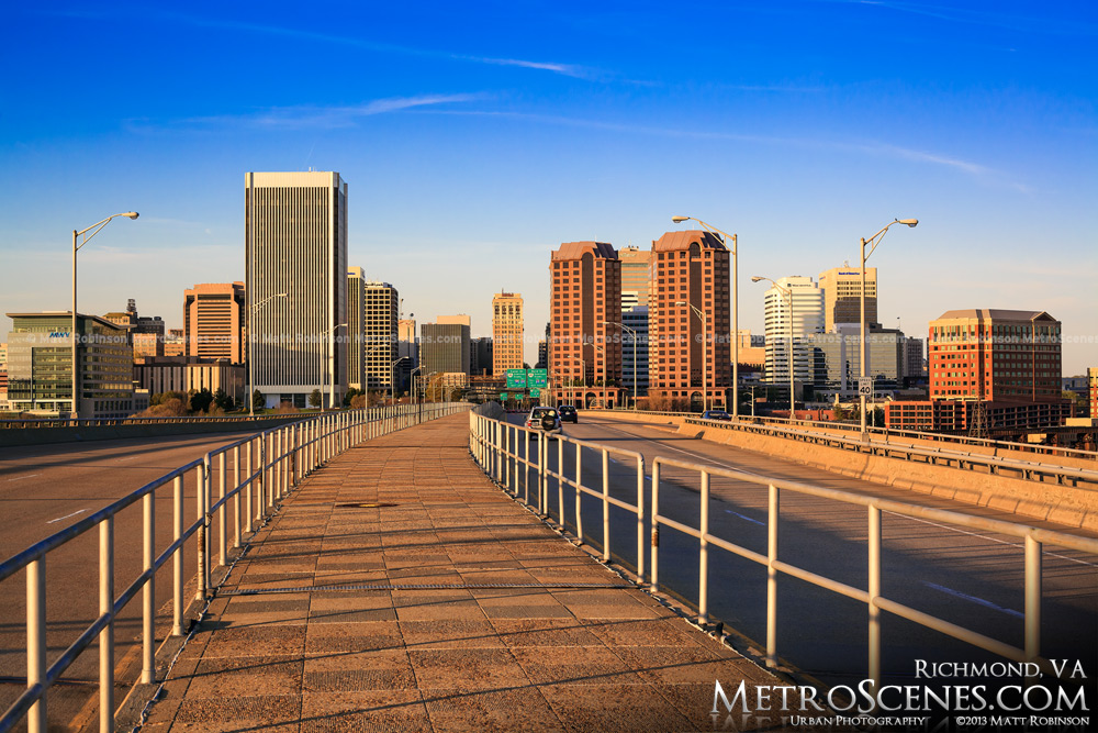 City Of Richmond Va >> Richmond Virginia Metroscenes Com City Skyline And