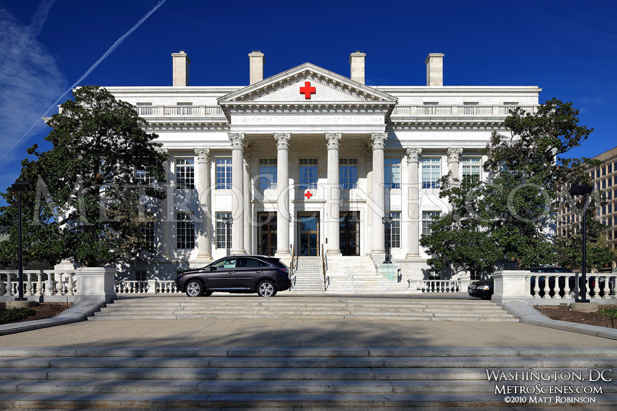 Front of Red Cross Building, Washington, DC