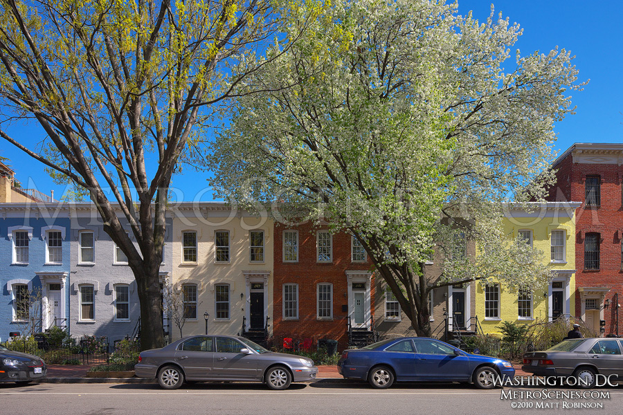 Washington, DC Rowhouses