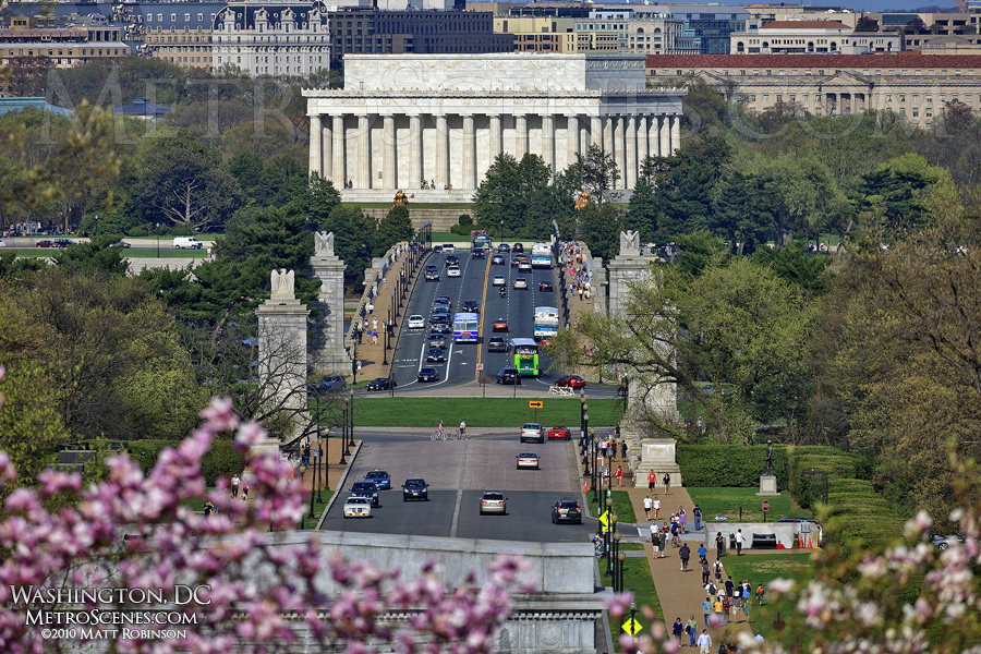 Arlington Memorial Bridge and the Lincoln Memorial