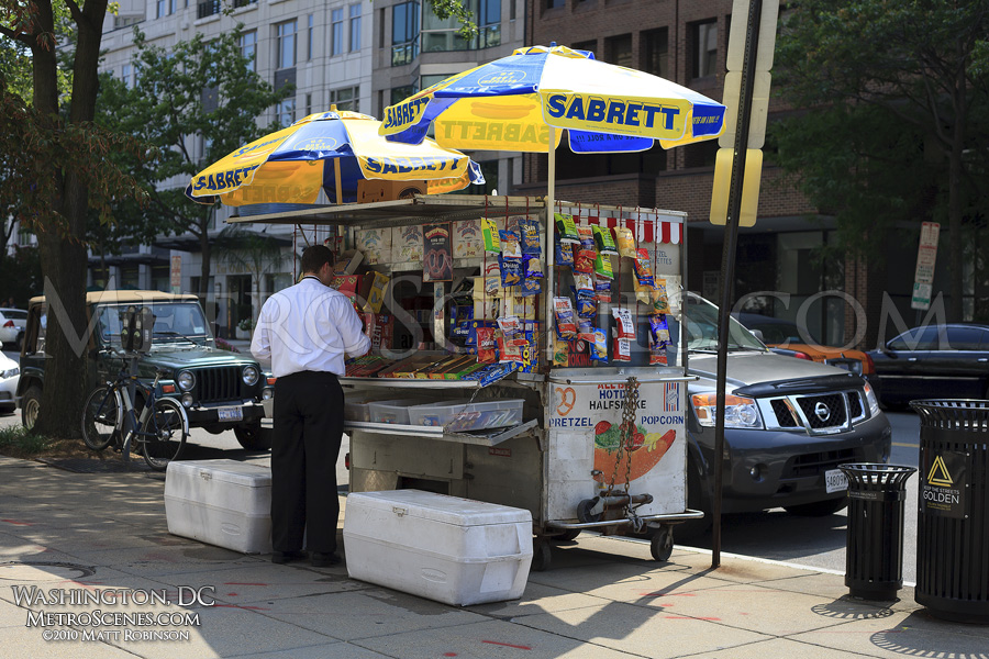 Washington, DC Hot Dog Stand
