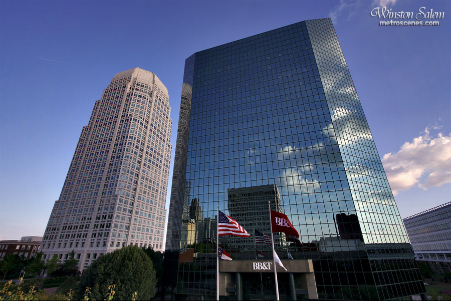 Wachovia and BB&T buildings, Winston-Salem